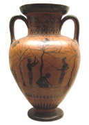 wine may have been transported in amphora and goatskins