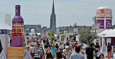 The Bordeaux Wine Festival features a two-kilometre Wine Road