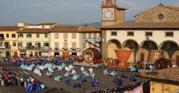 Tuscan festival in September celebrates the grape