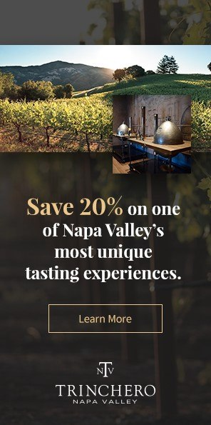 20% off for Napa Valley wines